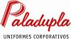 Sistema Web para Paladupla uniformes corporativos